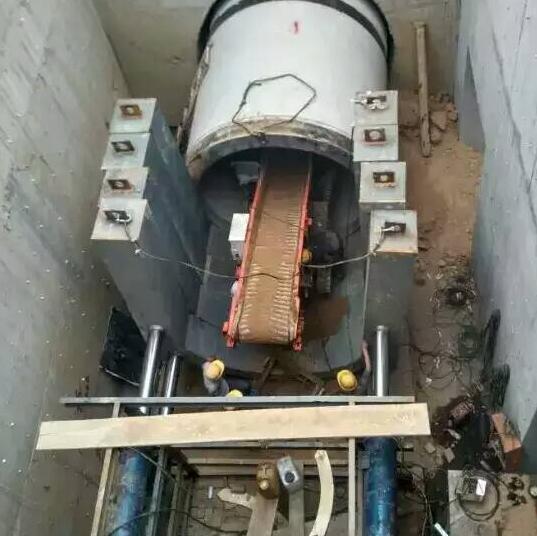 西安城建中使用80滑移式扒渣机